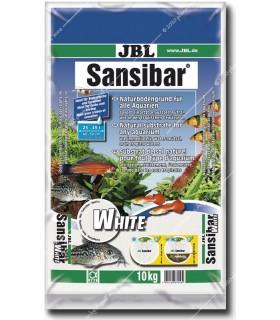 JBL Sansibar WHITE 10 kg - természetes akvárium talaj - fehér