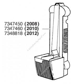 Eheim PickUp 160 (2010) hátfal (motorház nélkül) (7347460)