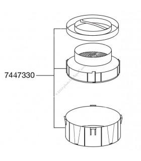 Eheim Ecco Pro 130/200/300 (2032/2034/2036) előszűrő tálca szűrőtartállyal és tetővel (37447330)