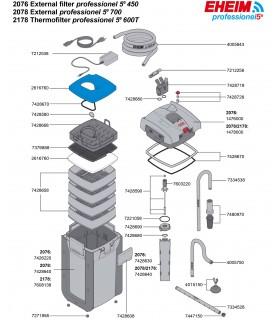 Eheim professionel 5e 450 WiFi külső szűrő (2076010)