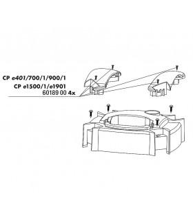 JBL CristalProfi csavar készlet a pumpafej fogantyúhoz (4 db)