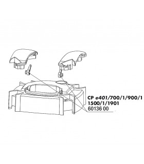 JBL CristalProfi csőcsatlakozó leszorító e40X, e70X, e90X, e150X, e190X (2 db)