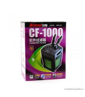 Atman CF-1000 külső szűrő teljes szűrőanyag töltettel