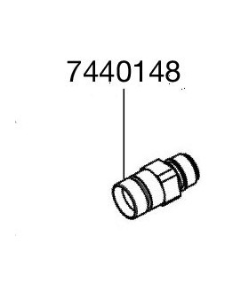 Eheim installációs szett 2 pótalkatrész - menetes toldat (7440148)