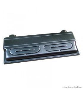 Diversa műanyag tető 100 x 50 - 2 x 30W T8 - fekete