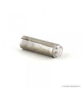 Garnélarács (pipakosár) 12/16 mm-es leszívócsőhöz - rozsdamentes acél