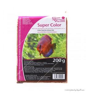 Super Vital 2000 Discusfutter Super Color (színfokozó) fokhagymával (200 g)