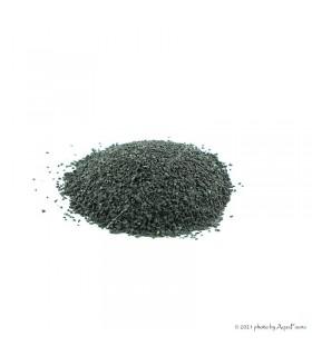 Bazalt akvárium aljzat - 0,5-1,2 mm szemcseméret, 1 kg