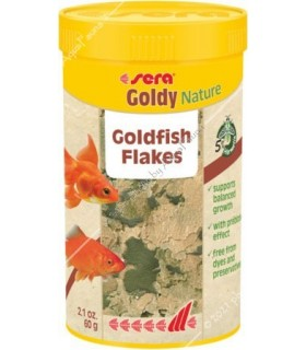 Sera Goldy Nature 250 ml - lemezes aranyhaltáp