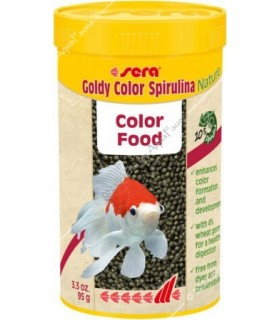 Sera Goldy Color Nature 250 ml - színfokozó granulált aranyhaltáp