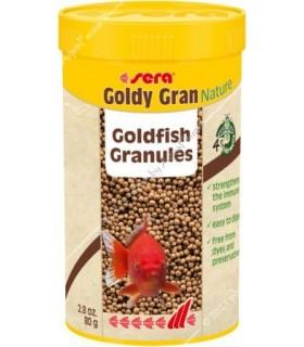 Sera Goldy Gran Nature 250 ml - granulált aranyhaltáp