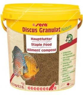 Sera Discus granulat Nature 10000 ml (4,5 kg, vödrös kiszerelés)