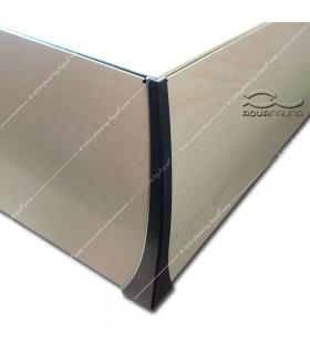 Diversa alumínium tető sarokvédő műanyag RECT (2 db)