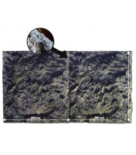 Rock II Modul 3D akváriumháttér 50 x 55 cm